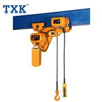 Stainless Traveling Type 3 Ton Electric Hoist Low Headroom Overhead Crane For Lifting