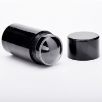 Buy cheap Black Empty Cosmetic Refillable Deodorant Tubes 30g 50g product