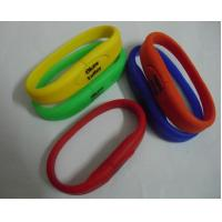 Buy cheap silicon wristband usb flash China supplier from wholesalers