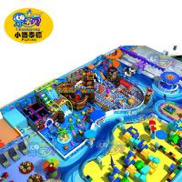 Commercial Indoor Jungle Gym , Shopping Centers Toddler Play Equipment