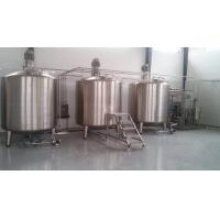 Buy cheap Stainless Steel Buffer Tank / Jacketed Stainless Steel Tank Corrosion Resistant from wholesalers
