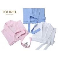 Buy cheap 100% Cotton Heavy Terry White Hotel Quality Bathrobes Knee Length Bathrobe from wholesalers