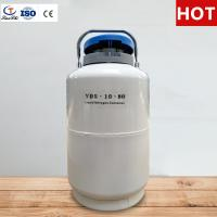 Buy cheap Tianchi Chemical Storage Tank YDS-10-80 Cryogenic Vessel 10L Liquid Nitrogen Container from wholesalers
