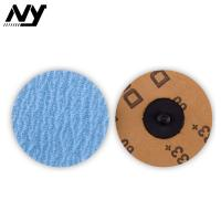 Buy cheap Quick Change Roloc Grinding Disc  Zirconia Oxide Cast Iron Titanium Polished from wholesalers