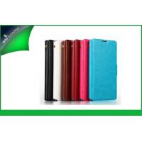Buy cheap Red Wallet Style Mobile Phone Protective Cases With Card Slot , Huawei G500 Case from wholesalers