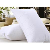 Buy cheap Microfiber Filling Hotel Collection Pillows For Nursing / Sleeping Rectangle Shape from wholesalers