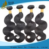 Buy cheap Black Indian Virgin Hair Extensions Free Shipping  No Smell 8inches  -  32 Inches from wholesalers