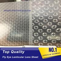 China PLASTIC LENTICULAR high quality microlens film sheet 360 3d effect microlens array film on sale