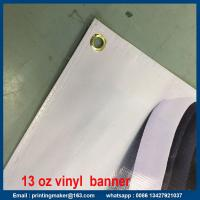 Buy cheap Advertisement High Resolution Vinyl Plastic Banner Signs for Business from wholesalers