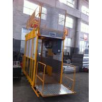 Buy cheap Operator Cab Construction Material Man And Material Hoist Dual Cage ISO from Wholesalers
