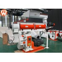 Buy cheap Livestock Cattle Feed Pellet Production Line With Forced Feeding Mouth Durable from wholesalers