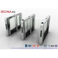 Buy cheap DC Servo Motor Speed Gate Turnstile Pedestrian Barrier 600mm-1200mm Passage Width product