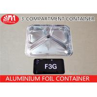 Buy cheap F3G Aluminium Foil Products , Aluminum Foil Storage Containers 600ml Volume product
