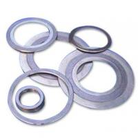 Buy cheap SS 304 / 316 Graphite Spiral Wound Gasket Thin Type With Inner / Outer Ring from wholesalers