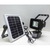 Buy cheap Waterproof Solar Powered Flood Lights Motion Sensor COB Chip from wholesalers