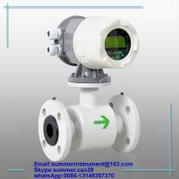 Buy cheap China cheap RS485 SS316 electromagnetic beverage flow meter(CE certified) from wholesalers