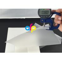 Buy cheap 80 Micron Pouch Laminating Film Custom Thickness / Size Ideal Photo Protect Film from wholesalers