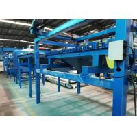 Buy cheap SGS Rock Wool Sandwich Panel Line Max Panel 10m With Hydraulic Bandsaw Cutting product