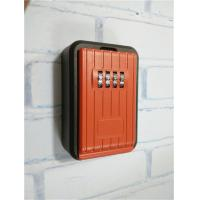 Buy cheap Outdoor Push Button Wall Mounted Key Lock Box For Door High Security from wholesalers