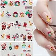 Buy cheap Portable elegant Artificial Christmas nail sticker suppliers nontoxic for adults from wholesalers
