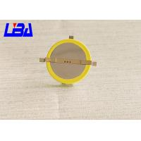 Rechargeable Cr2032 With Solder Tabs , Cr2032 Lithium Battery Coin Cell
