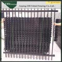 Buy cheap Galvanized Wrought Iron Garden Fence Panels Decorative Security Fence Anti Climb from wholesalers