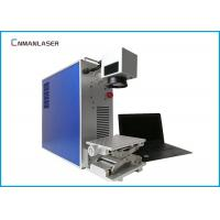 Buy cheap Original Ezcad Metal Laser Marking Machine , Fiber Color Small Laser Marker For Bearing from wholesalers