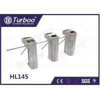 Custom Semi - Auto RFID Access Control Turnstile Gate , Waist High Turnstile