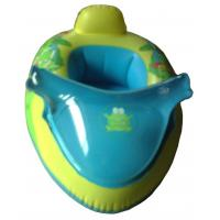 Buy cheap Animal printed inflatable BB float swimming green color boat for sale from wholesalers