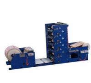 Buy cheap LC-RY-650-950 paper cup flexo printing machine/flexographic printer machinery 100m/m 1100 unwinding 1000 rewinding product