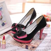 Buy cheap 10cm high heel shoes with PU leather from wholesalers