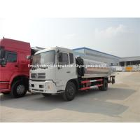 Buy cheap bitumen distributor truck dongfeng 8000 litres from wholesalers