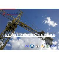 Buy cheap 4t Fixed Self-Climbing Building Topless Tower Crane , self-lifting Tower Crane from wholesalers