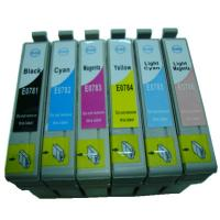 Buy cheap Inkjet Cartridge Compatible for Epson T0781/T0782/T0783/T0784/T0785/T0786 from wholesalers