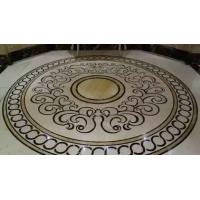 Buy cheap Waterjet Tile,Marble Stone Polished of the Waterjet Patterns Flooring Tiles from wholesalers