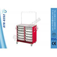 Buy cheap Medical Equipment Metal Steel IV Treatment Infusion Medical Trolleys For Patients from wholesalers