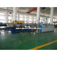 Buy cheap DWC HDPE Pipe Extruder Machine / Doble Wall Corrugated Drain Pipe Machine from wholesalers