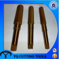 Buy cheap HSS coating TIN Taper Shank Machine Reamer with TUV CE from wholesalers