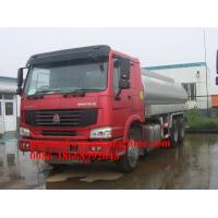 Buy cheap 25000L Oil Tanker Truck 6X4 product