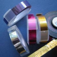 Buy cheap Adhesive Metallic Tape With 9mm Width, Suitable for Tape Writer from wholesalers