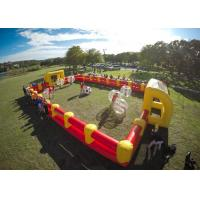 Buy cheap 1.0mm TPU Human Hamster Bumper Ball , Outdoor Toys Inflatable Body Ball For Kids And Adult from wholesalers