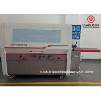 Buy cheap High Efficiency 4 Head Planer Moulder for producing high volume laminated finger-joint board from wholesalers