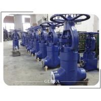 Buy cheap CS A216 WCB CL2500 PRESSURE SEALED BONNET OS&Y GLOBE VALVE from wholesalers