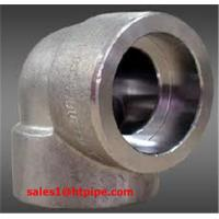 Buy cheap ASTM B564  UNS N08800 UNS N08811  UNS N08810   nickel alloy forged  socket welding sw elbow   ASME B16.11 from wholesalers