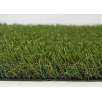 Buy cheap Unique Fiber Shape Indoor Outdoor Carpet Grass Turf Green Artificial For City Decoration from wholesalers