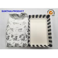 Buy cheap 100% Cotton Baby Clothes Gift Set 3 Pack Bodysuits For Infants OEM Available from wholesalers