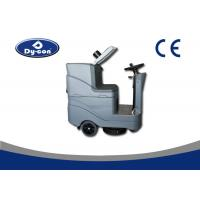 Buy cheap Battery Powered Floor Scrubber Dryer Machine Ametec Suction Motor Low Noise from wholesalers