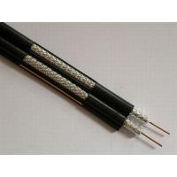 Buy cheap Dual RG6 Coaxial Cable for CATV and MATV , PVC Jacket 75 ohm Video Cable product