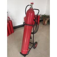 Buy cheap Portable Co2 Fire Extinguisher , 10kg Trolley Type Fire Extinguisher For Supermarkets product