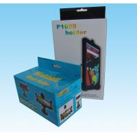 Buy cheap custom Luxury full color paper box printing with paper hanger from wholesalers